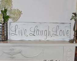 live laugh love sign etsy