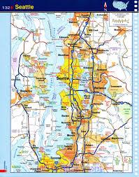 Tourist Map Of Seattle by Map Of Seattle Washington Roundtripticket Me