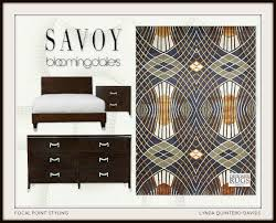 Bloomingdales Bedroom Furniture by Focal Point Styling Deco Details Today Savoy Collection At