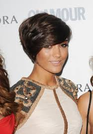 frankie sandford hairstyles short deep side parted hairstyle with bangs frankie sandford