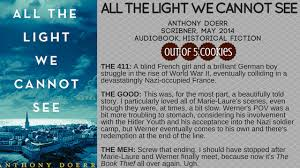 all the light we cannot see audiobook mini reviews all the light we cannot see waking gods story and