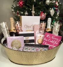 Book Gift Baskets East Coast Chic Thoughts For Thursday Diy Champagne Gift Basket