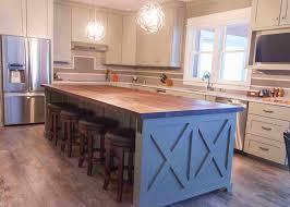 white oak wood bright yardley door butcher block kitchen island