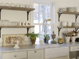 kitchen kitchen shelves wooden open shelving unit marble shelves