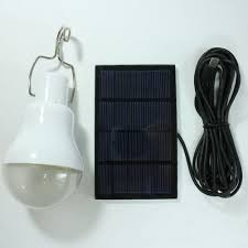 emergency lighting battery life expectancy portable 15w 130lm solar energy charge led light bulb cing