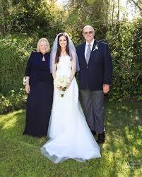 monica and ricky la jolla backyard wedding posed photos by san