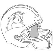 nfl team coloring pages carolina panthers logo coloring page free printable coloring pages