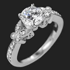 butterfly engagement ring charisma butterfly wedding set miadonna