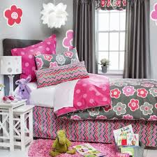 kids bedroom cute designs wall with attractive pink
