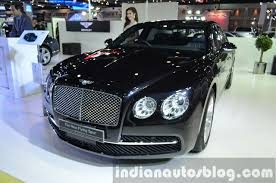 new bentley sedan bentley flying spur continental gt v8 showcased in thailand