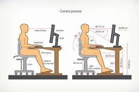 bonne position au bureau osteo impul s conseils pour adopter une bonne position de travail