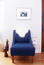 Blue Accent Chairs For Living Room Photo Of Blue Accent Chair Best Coordinate Navy Blue Accent