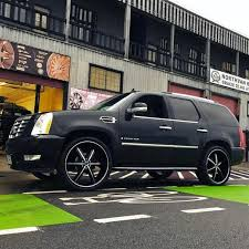 build a cadillac escalade cadillac after modification and or restoration by strada wheels
