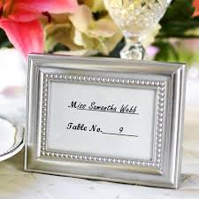 picture frame wedding favors silver mini photo frame
