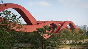 house interior architecture in india for excellent construction wavy red ribbons form lucky knot bridge in changsha by next architects design house magazine