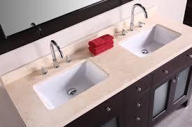 Art Denton  Inch Double Sink Bathroom Vanity Beige Natural - Awesome black bathroom vanity with sink property