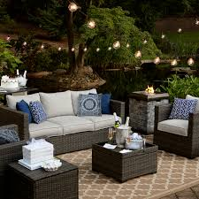 Sears Patio Furniture Covers - grand resort monterey 3 piece sofa seating set grey limited