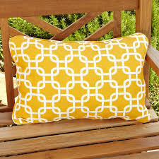 penelope yellow indoor outdoor pillows set of 2 free shipping