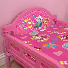 paw patrol forever junior toddler bed girls bedroom mattress
