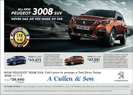peugeot dealer list a cullen and son proudly peugeot and citroen on the sunshine coast