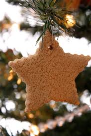 salt dough gingerbread ornaments