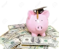 graduation piggy bank piggy bank with graduation cap on stock photo picture and