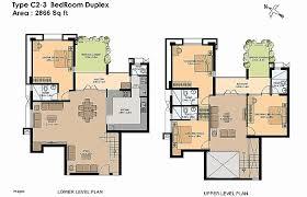 plan layout semi detached house layout plan best of three bedroom duplex plan