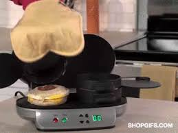 Breakfast Sandwich Toaster Breakfast Sandwich Maker The Gif Shop