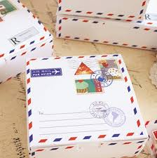 cheese wrapping paper hot sale 14 14 5cm 10pcs envelope travel design cheese cake paper