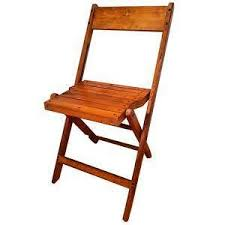 Wooden Frame Armchair Wood Folding Chairs Ebay