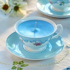 tea cup candle how to make your own teacup and saucer candle housekeeping