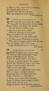 hymnal of the methodist episcopal church 23 now may he who from