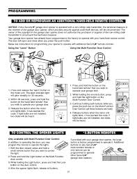 chamberlain remote light control chamberlain garage door opener manual
