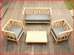 canape teck canapé d extérieur 40278 mobilier de jardin teck salon forest