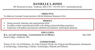 profile summary example for resume resume ideas
