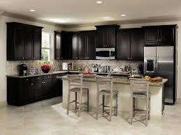 aristokraft wentworth black kitchen cabinets kitchen other