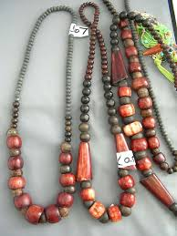 long wood bead necklace images Wooden bead necklaces detail balinese designer wear wooden jpg