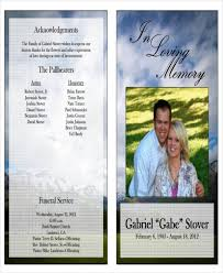 printable funeral programs 36 printable obituary