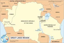 Map Of Central Africa by Map Of The African Great Lakes Info Graphics And Other Stuff