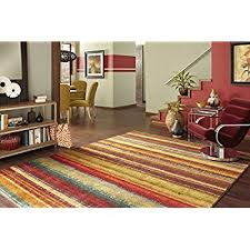 Mohawk Area Rugs 5x8 5 X 8 New Wave Rainbow Multi Rectangle Kitchen