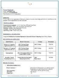resume templates download for freshers over 10000 cv and resume sles with free down