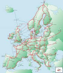 Seattle Bike Map by Eurovelo Bike Tour Pinterest Holland Belgium And France