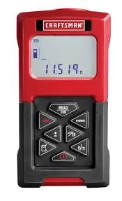 craftsman accutrac laser measuring tool a concord carpenter accutrac laser measuring tool model 48277