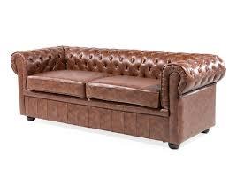 canap en simili cuir canapé retro canapé en simili cuir vintage sofa chesterfield