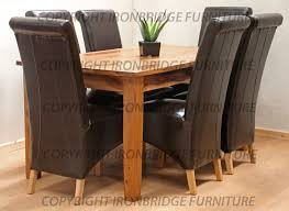 perfect brown leather dining room chairs with laredo brown leather