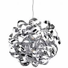 ribbon light ribbon 4245ch pendant light polished chrome