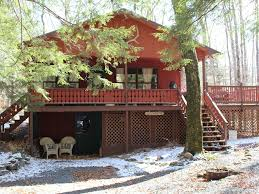 cozy cute chalet style home on a wooded lo vrbo