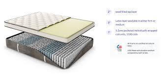 Eco Mattress Topper 2 5 Nest Bedding Hybrid Latex Medium Mattress Reviews Goodbed Com