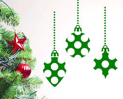 aliexpress buy merry festival ornaments wall decal