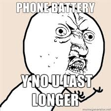 Dead Phone Meme - phone battery